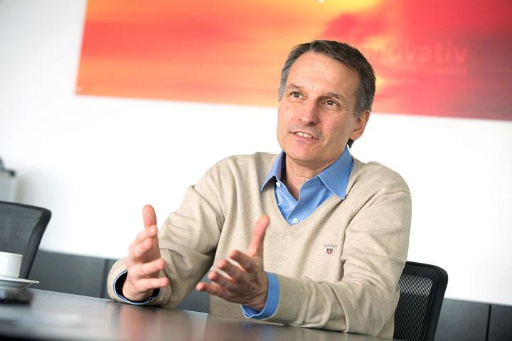 Dieter Siegel, CEO Rosenbauer
