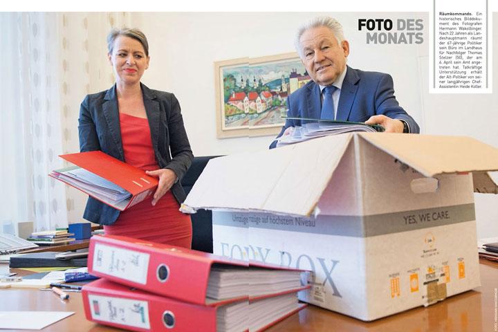 Bild des Monats Alt-LH Dr. Josef Pühringer