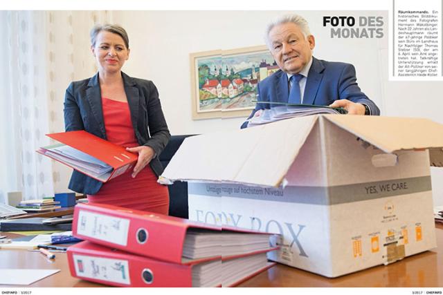 LH a.D. Dr. Josef Pühringer und Heide Koller