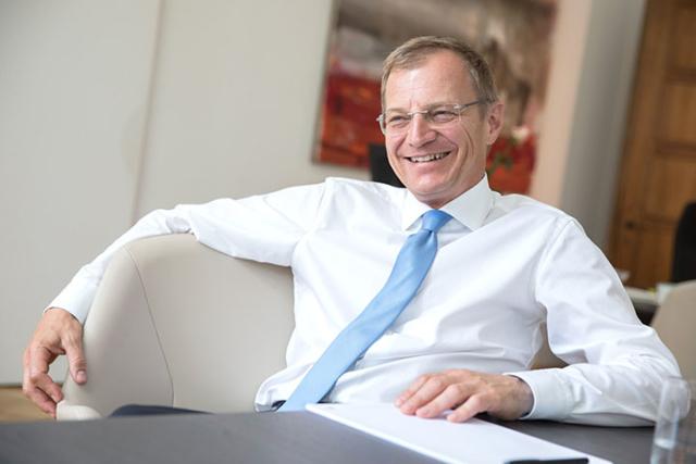 LH Thomas Stelzer, Interview für Chefinfo