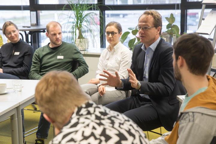 Univ.-Prof. Markus Hengstschläger, Workshop für Academia Superior