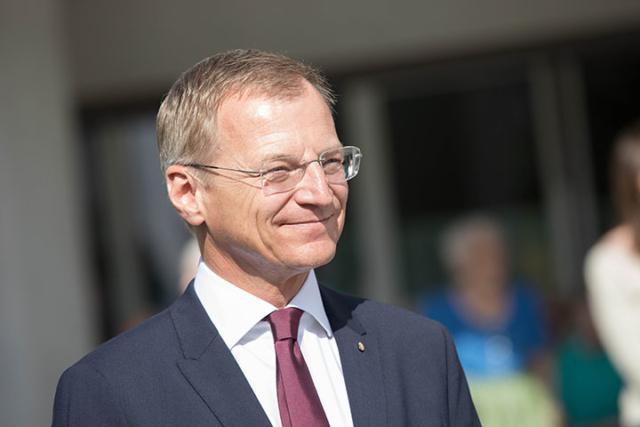 Landeshauptmann Thomas Stelzer für OÖVP