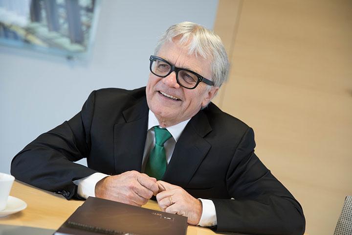Dr. Wolfgang Eder, Interview für Chefinfo
