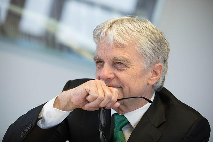 CEO Wolfgang Eder, voestalpine (© Hermann Wakolbinger)