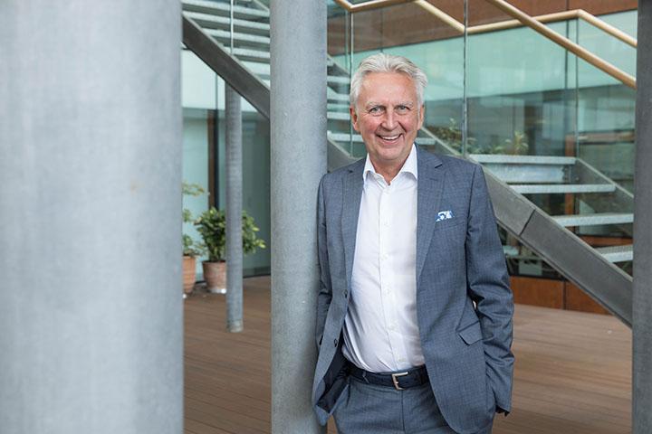 Keba-CEO Gerhard Luftensteiner für Industriemagazin
