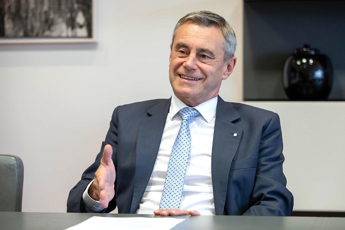 RLB CEO Heinz Schaller