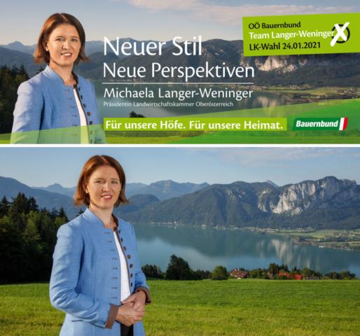 Präsidentin Michaela Langer-Weninger