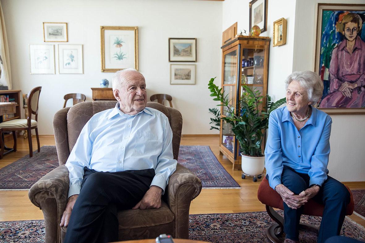 Anneliese und LH Josef Ratzenböck