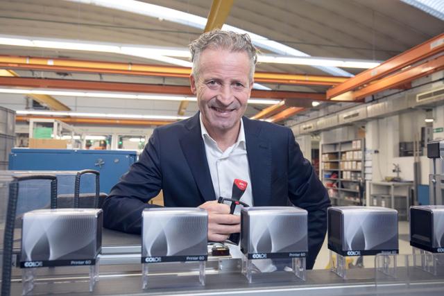 Ernst Faber, Fa. Colop für Chefinfo