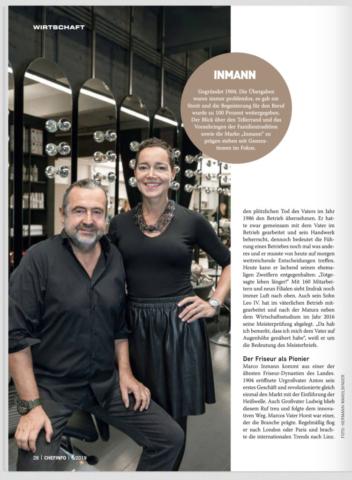 Barbara und Marco Inmann_Clipping Chefinfo