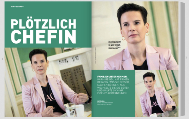 Karin Reindl_Clipping Chefinfo