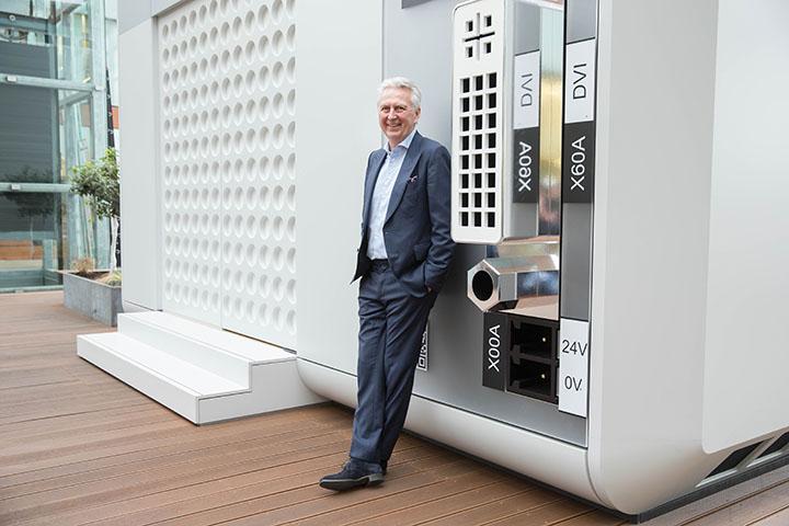 """KEBA CEO Gerhard Luftensteiner für """"DiePresse"""""""