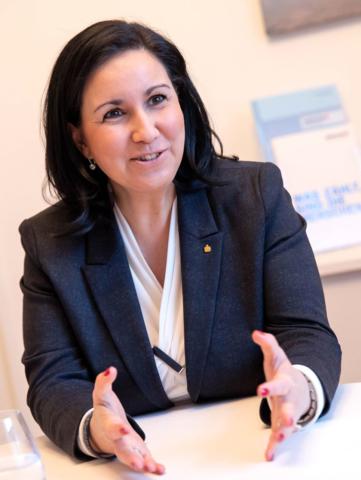 Sparkasse Vorstandsvorsitzende Stefanie Huber