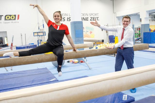 LR Markus Achleitner, Feature Sport