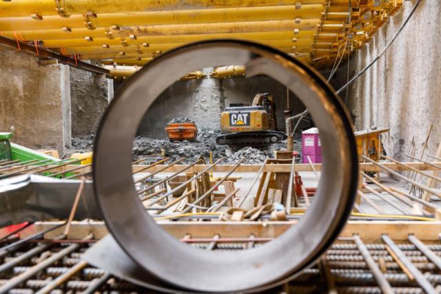 Swietelsky AG, U-Bahn Baustelle Wien