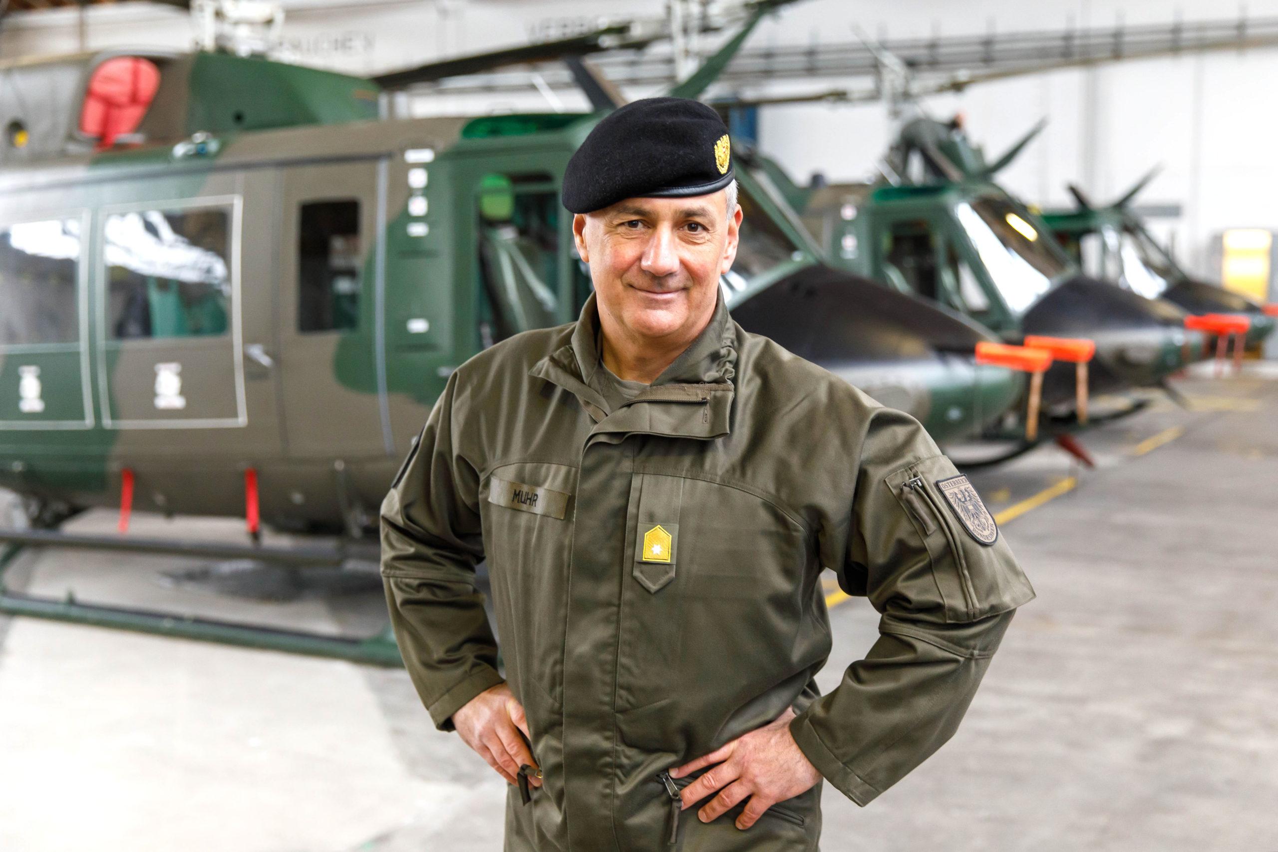 Militärkommandant Brigadier Dieter Muhr