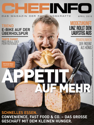 Chefinfo Christoph Baur, Leberkas-Pepi