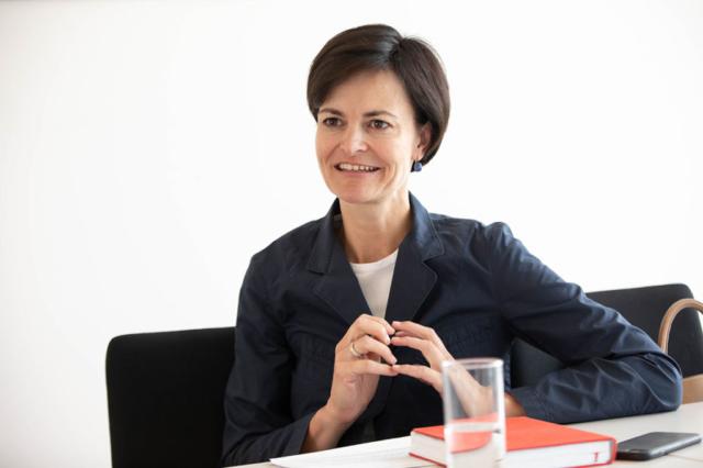 Fronius CEO Elisabeth Engelbrechtsmüller-Strauß