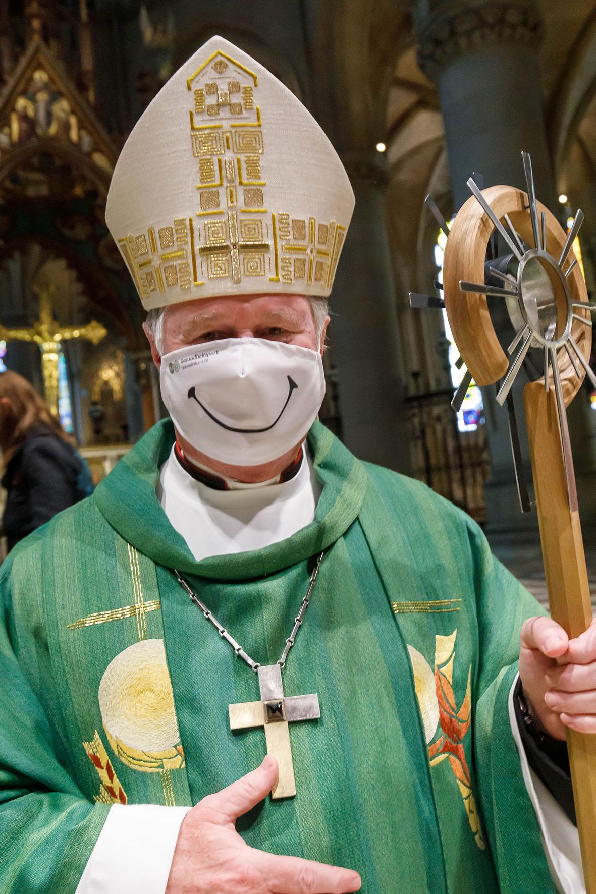Bischof Manfred Scheurer